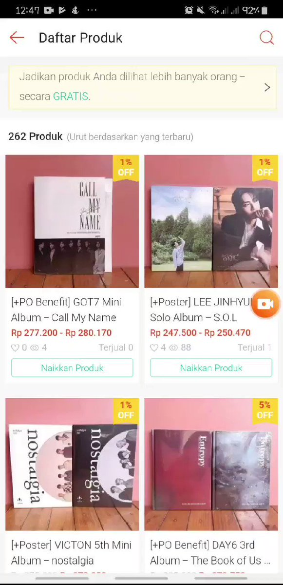 🎉 𝙎𝙏𝘼𝙍𝙆𝙔𝙐 𝙔𝙀𝘼𝙍-𝙀𝙉𝘿 𝙎𝘼𝙇𝙀 🎉  SALE UP TO 29% ONLY ON SHOPEE ↓↓↓↓↓↓↓↓ http://shopee.co.id/starkyujoy