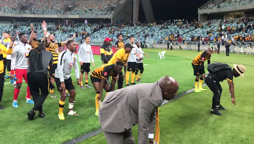 Fun & games @KaizerChiefs