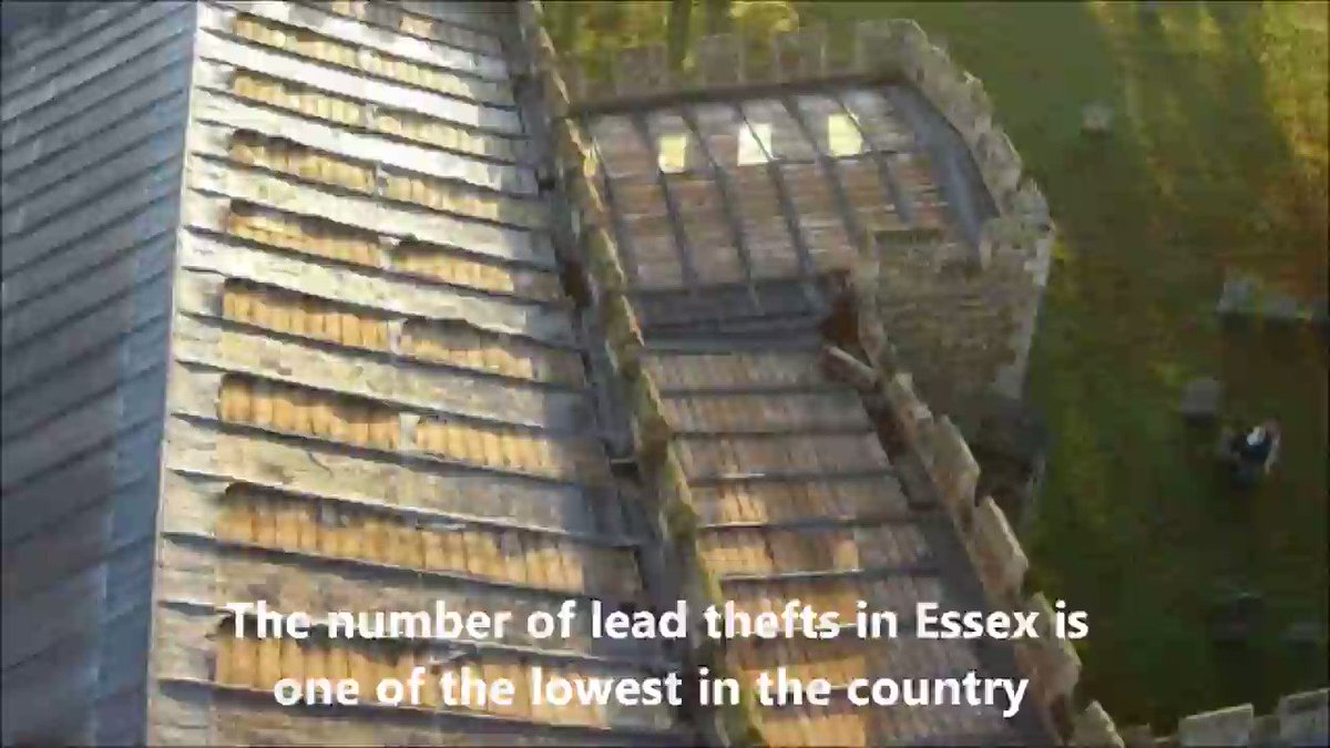 Countryside Alliance @CACampaigns reveals that there were only 6 @EssexPoliceUK recorded lead thefts from #Essex churches between Jan 2017 and July 2019 Jessie Dunn from the Alliance says its promising news