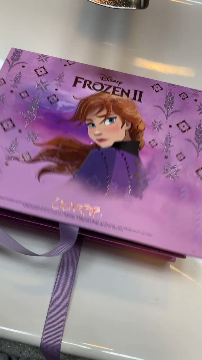 Opening this beauty today!! @ColourPopCo #frozen2andcolourpop #frozen2collection