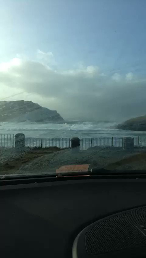 West Kerry looks very stormy at the moment #StormAtiyah