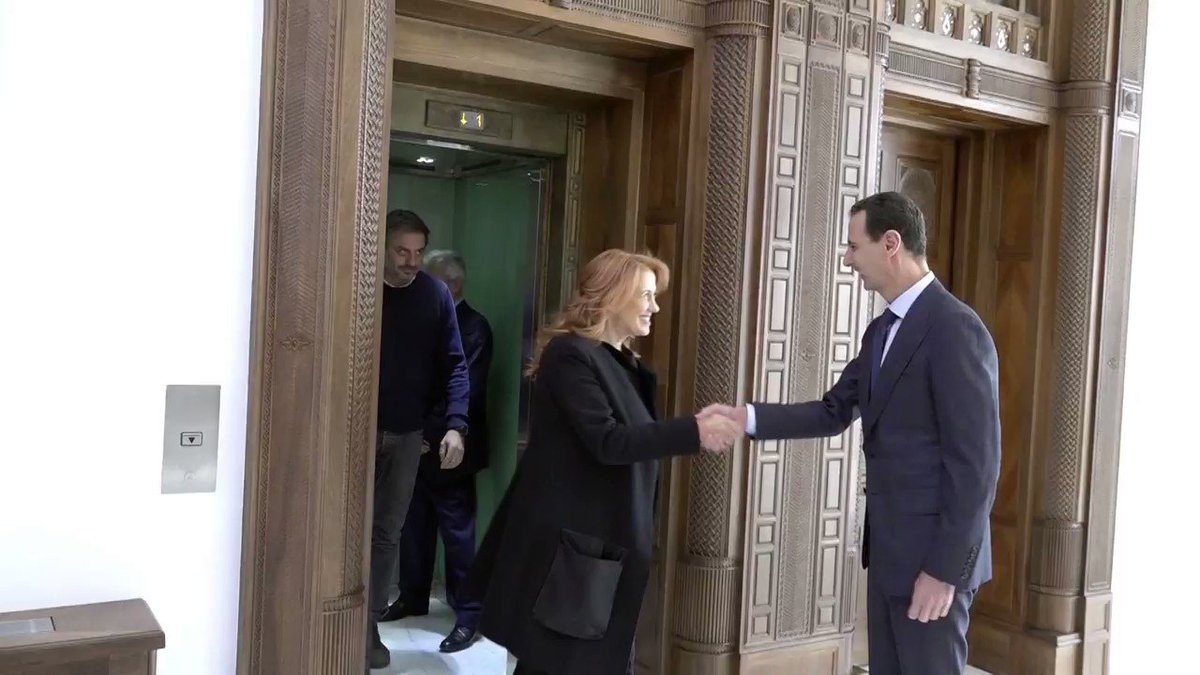 The Political and Media Office of the Syrian Presidency (@Presidency_Sy) will broadcast President Assad's interview with Italian state TV Rai News tomorrow.