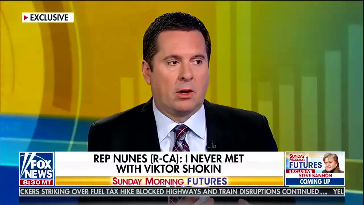 Devin Nunes's explanations for his Parnas phone calls are getting increasingly outlandish
