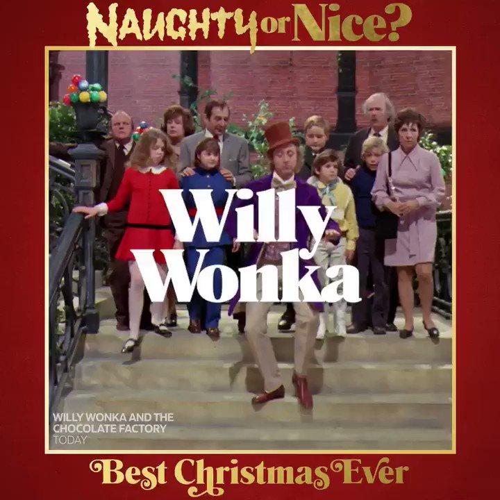The original antihero, Willy Wonka. #BestChristmasEver
