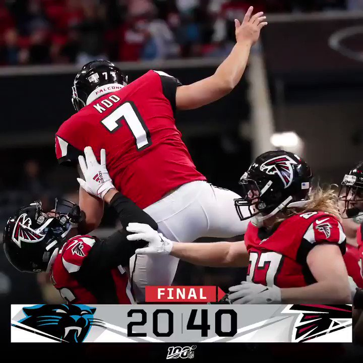 Atlanta Falcons @AtlantaFalcons