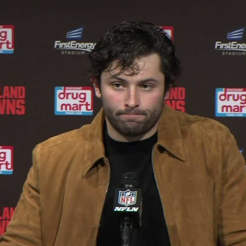 """""""It wasn't handled the right way in our training room. It is what it is.""""  Baker Mayfield spoke candidly about OBJ's lingering injury."""