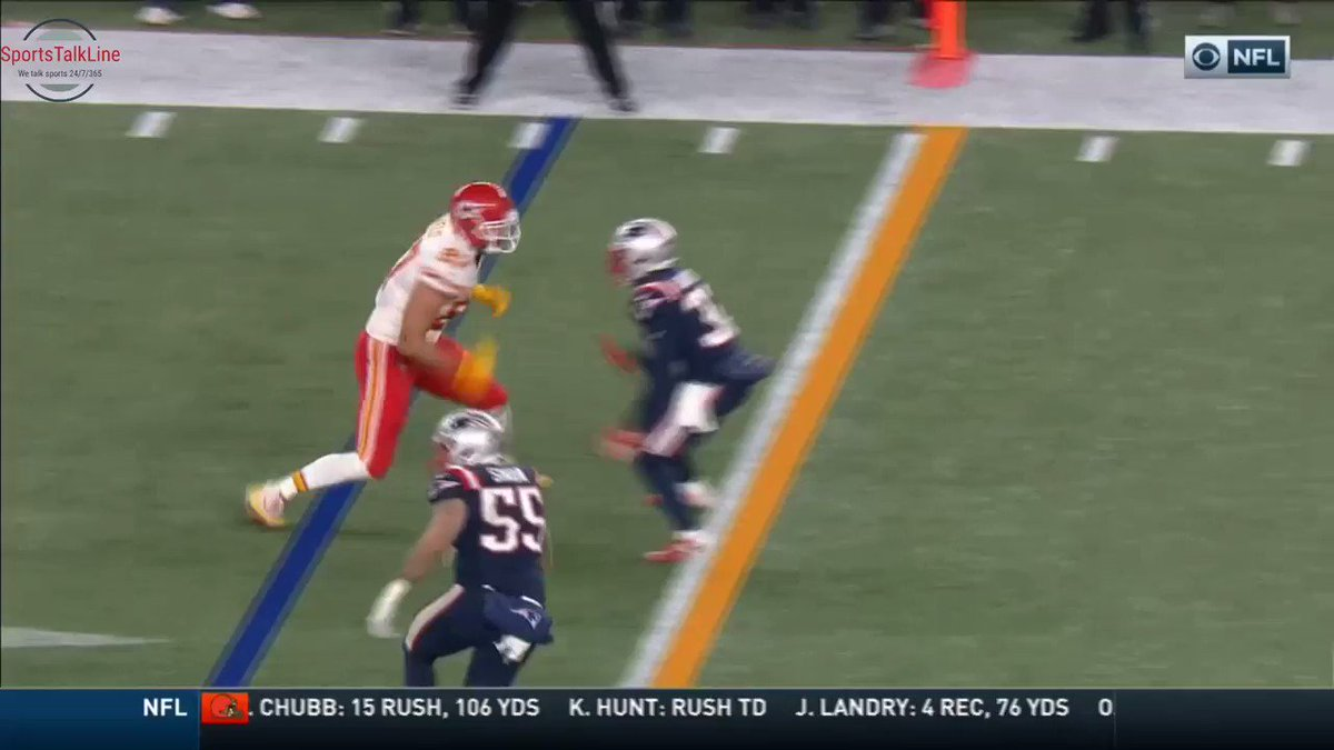 Video: Refs Make Horrendous Call In Patriots-Chiefs Game