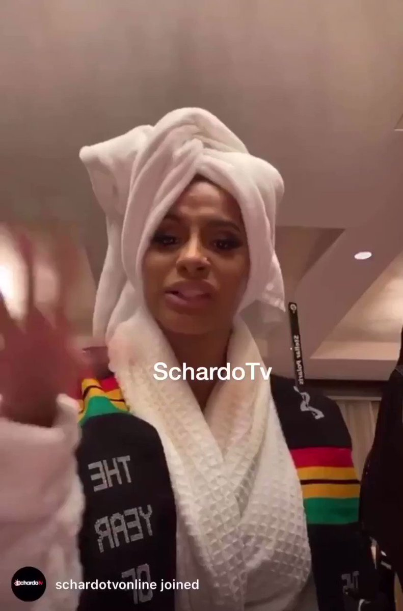 Cardi B addresses her Bitches at Kempiski yesterday...😊 #CardibinGhana #CardiBInAccra #YearofKhebab