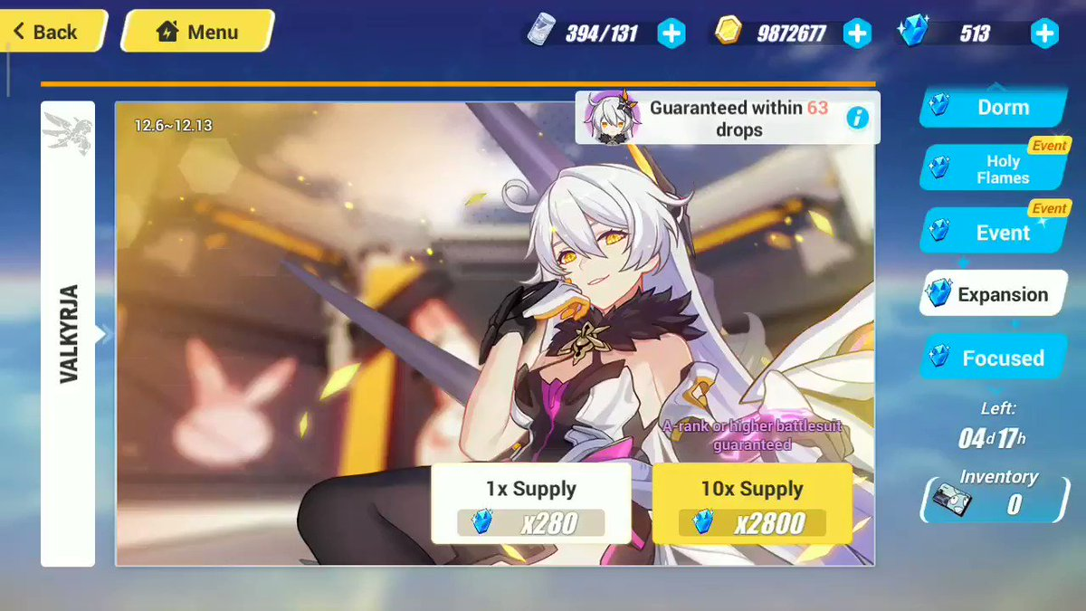 Thank you, Lord!!!! 😭😭 #HonkaiImpact3rd  #HONKAIIMPACT3  #Herrsher_of_the_Void