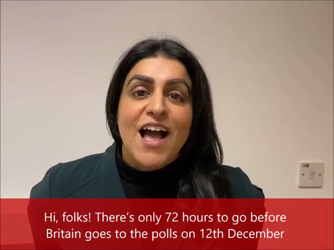 ⏰ In 72 hours time, polls will open in the most important General Election for a generation. 🗳️ Lets not miss this opportunity — lets elect a @UKLabour Government this Thursday! Help out in the final few days 👇 ShabanaForLadywood@gmail.com