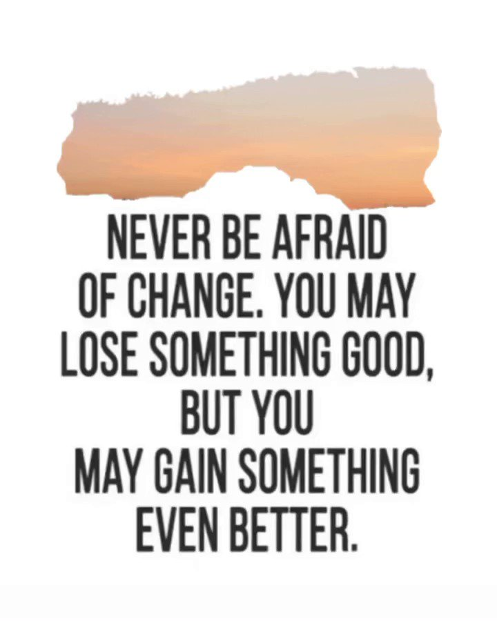 Change is inevitable! Take it as it comes and allow positive things to happen🙌🏼 • • #farmersagentsdoitbetter #agency #careerpath #entrepreneur #network #connect #atxlife #atx #austin #texas #autogramtags #mondaymotivation #opportunity #farmersdistrict37 #agentreferral #referral