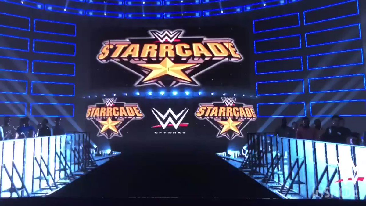 #WWEstarrcade #WWENetwork special #juneppv #KevinOwens #SamiZayn & #BobbyLashley 🆚#TheShield