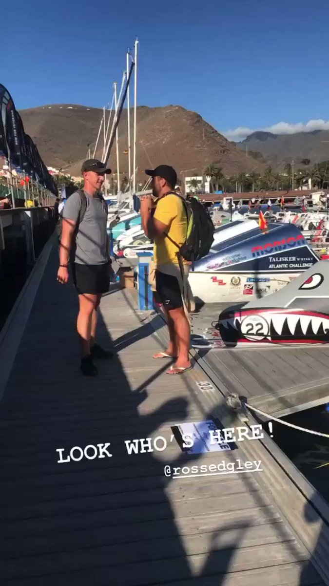 The one & only @RossEdgley is here to support #TWAC2019 🙌🏼