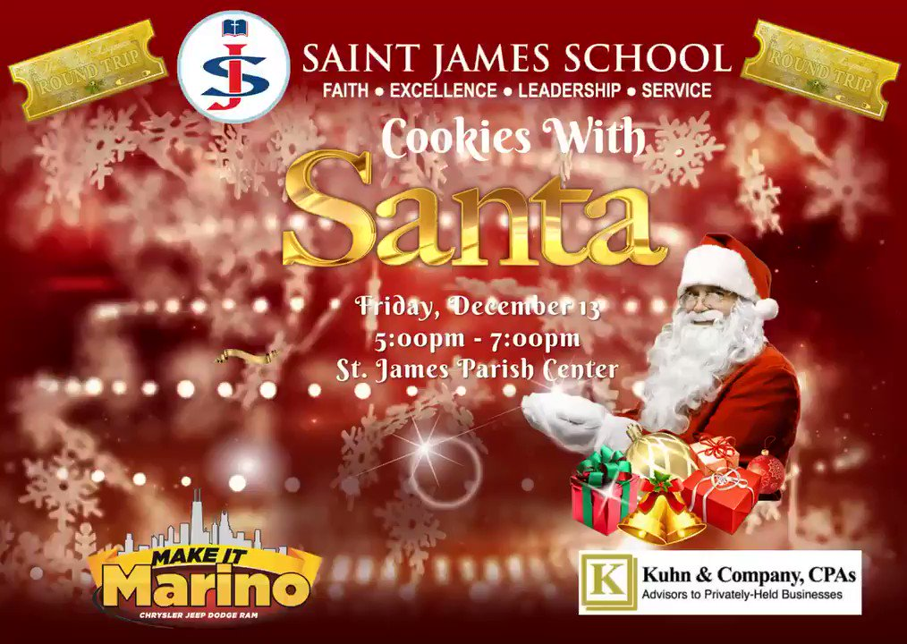 Image for the Tweet beginning: Are you attending Saint James
