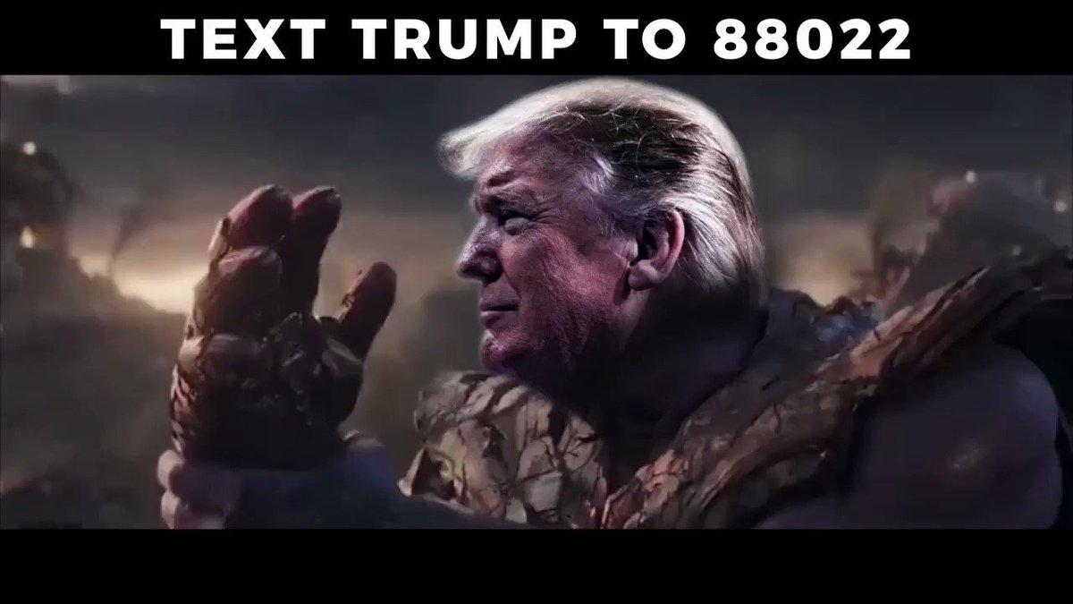 Trump campaign shares video depicting POTUS as 'Avengers' villain Thanos