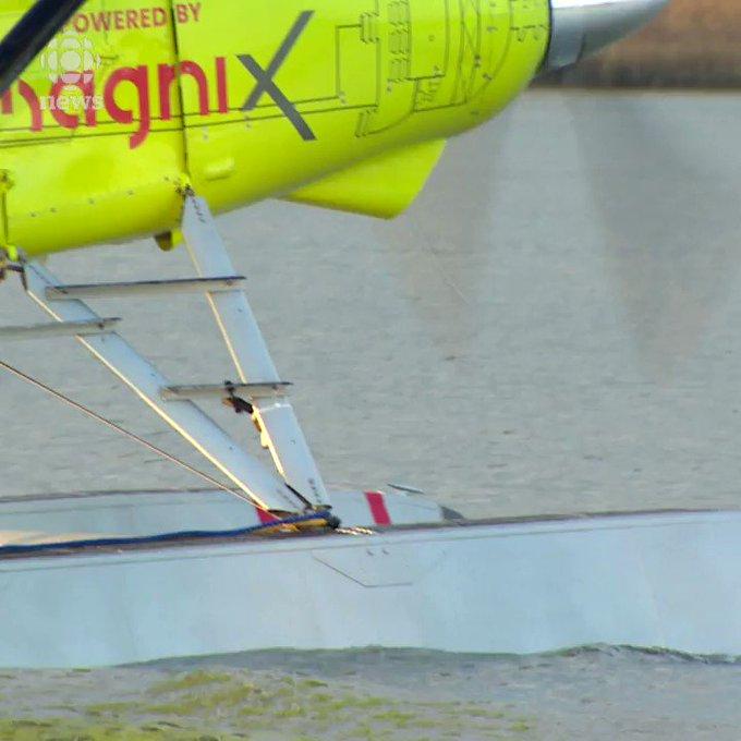 Sikeresen tesztelték az első elektromos utasszállító repülőgépet