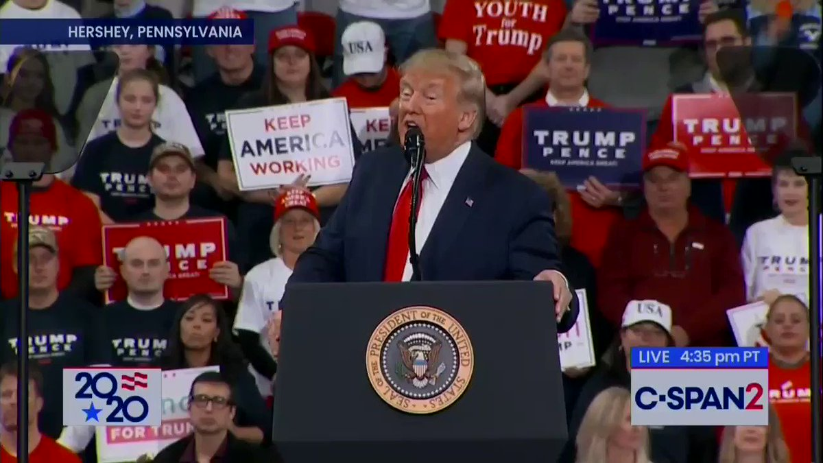 WATCH: At Last Night's Rally, Trump Claimed America Is Now Respected Again