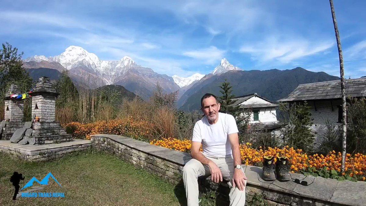 Ghorepani Ghandruk circuit luxury trek, trekking in nepal.https://www.ruggedtrailsnepal.com/ghorepani-trekking.html…#Nepal #luxurytreknepal #ghorepanighandruktrek #visitnepal2020 #ruggedtrailsnepal #hikewithusinnepal #shorttreksinnepal
