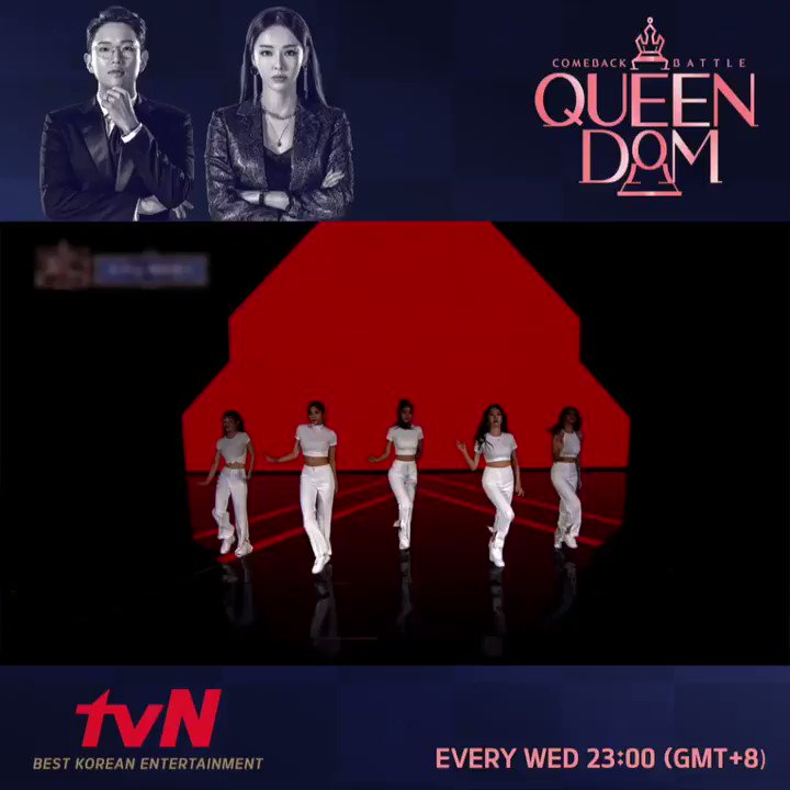 Each group voicing out their determination at the very beginning of Queendom👑 Follow their journey in the show (again) on tvN Asia as they emerge victorious while staying true to their conviction! ⭐️Tonight 23:00 (GMT+8) #ParkBom #AOA #MAMAMOO #Lovelyz #OHMYGIRL #GIDLE