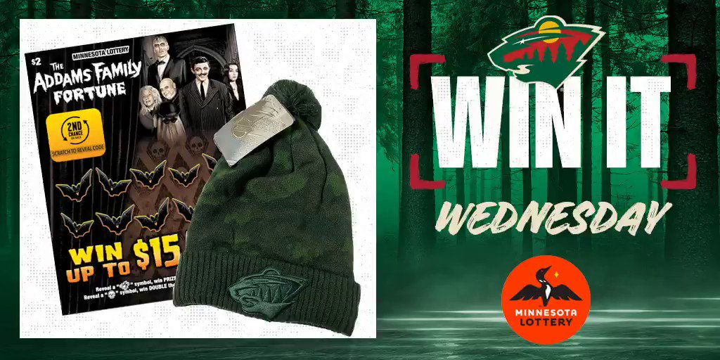 🎉 Say I'MN to #WinItWednesday. 🎉  RT for a chance to win a #mnwild pom hat, $50 in @mnlottery scratch 🎟 and more!  Rules: