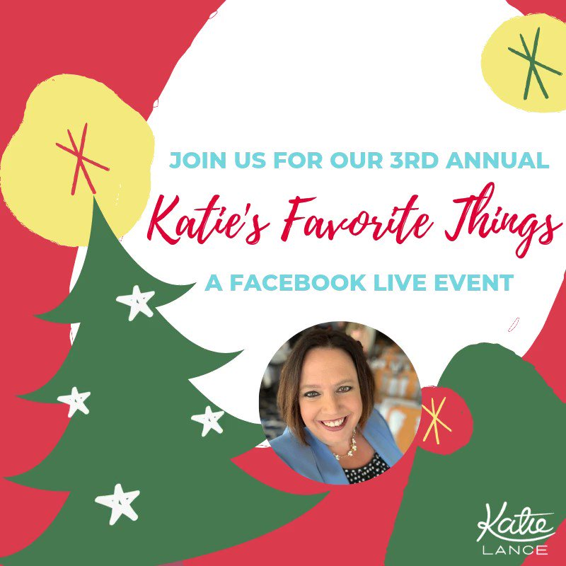 I'm so excited for my 3rd annual Facebook Live where I showcase my #favethings2019! Save the date for 12/13 at 10am PST/ 1pm EST: https://t.co/97VbkdWwt1This year I am showcasing my very fave:📚Books 💻Tech tools 📱Apps ✈️Travel accessories ... and so much more!