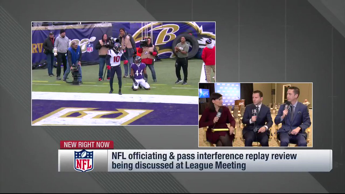 Image for the Tweet beginning: From NFL Now: On the