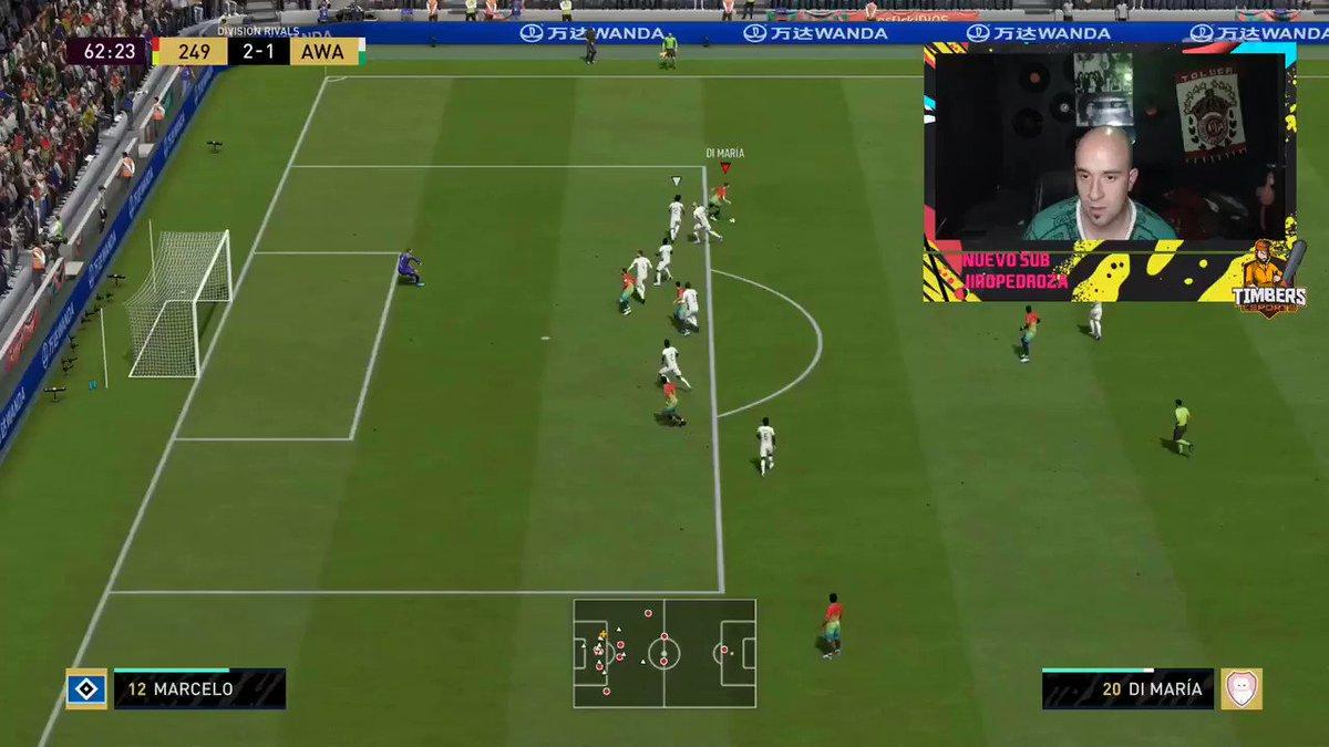 Que bonito gol se aventó @orkoo0 ⚽️🤲🏼 ¿Cual es tu jugador favorito en FIFA?#GoTimbers 🌲