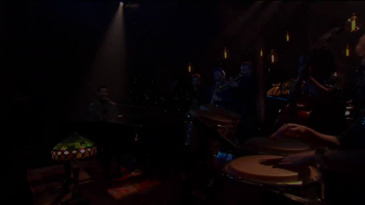 Watch us perform my composition of BLACCK on @colbertlateshow last night. HORRRNNNNSSSS! bit.ly/2PghskV