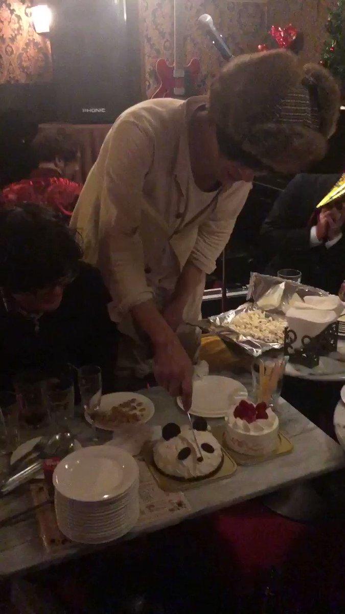 RT @rihosi12: 🐼🐼🐼🐼 パンダケーキご馳走様でした🙏 楽しかった☺️🎄 https://t.co/GBeHqH5R6Z