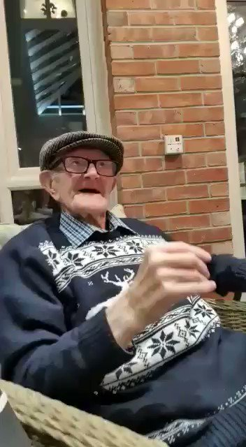 When the tunes just have you singing along.   Here's a resident at Castle Grange care home in #Scarborough just loving the build-up to Christmas.  #CaringForYourFamily #CareHomes #CareNews #NorthYorkshire #ChristmasJumperDay