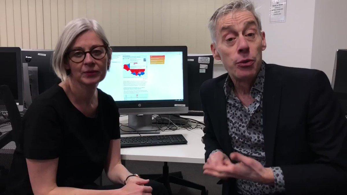 #McrMetUni student reporters will be covering the  #GeneralElection2019  live from a  @MMULibrary pop-up newsroom & at key counts across the region. Here to explain more about  @northernquota are Multimedia Journalism lecturers  @LizHannaford &  @Peter__Murray:  http://ow.ly/iHU850xyir9