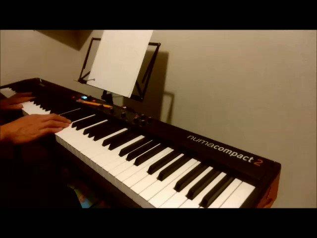 サビだけ「Break the wall」耳コピで弾いてみた☆やはり郷太さんが作る曲は弾いてて楽しい٩(๑❛ᴗ❛๑)۶#ヒプマイ#breakthewall#西寺郷太 さん#ピアノ#耳コピ#弾いてみた