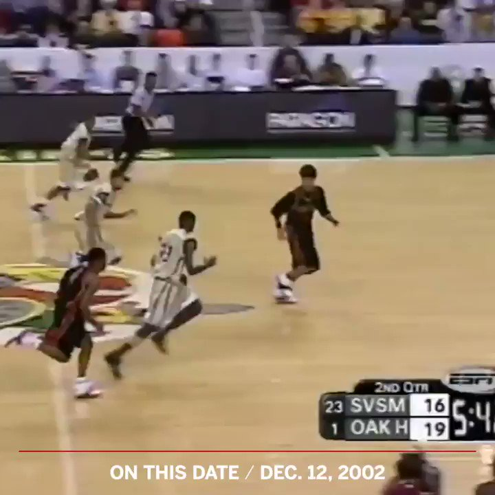 Seventeen years ago today, @KingJames made his national TV debut. He delivered 🔥31 points   13 rebounds   6 assists