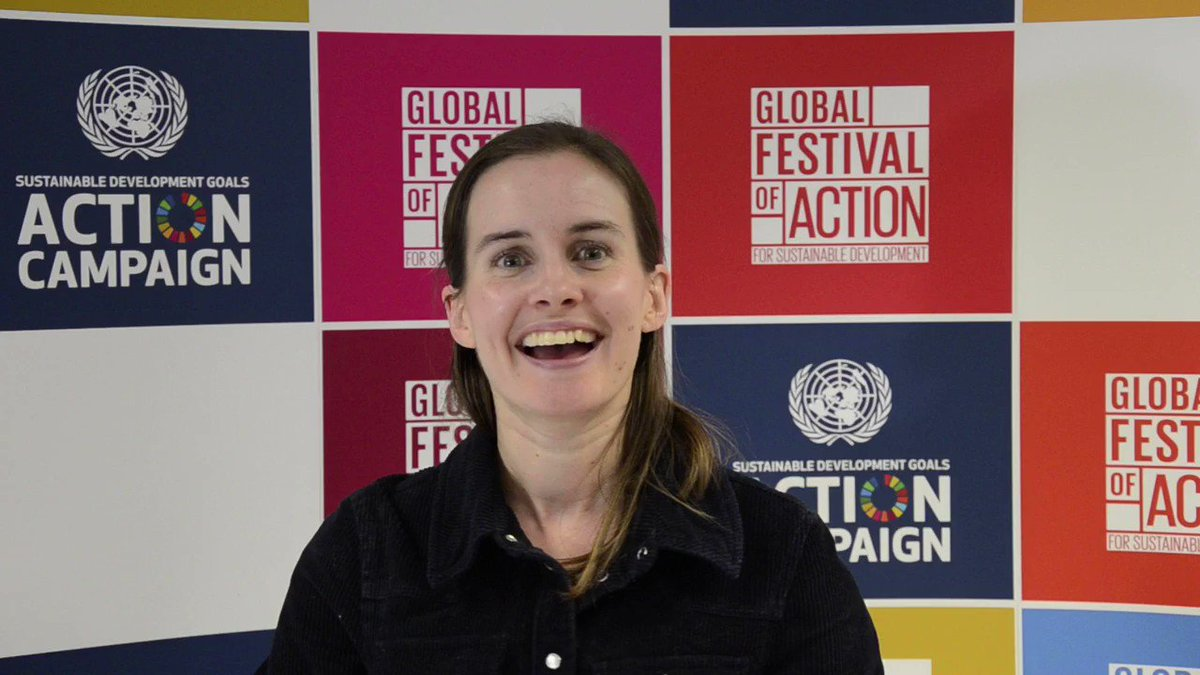 """@HamzyCODE """"You go away inspired"""" Emma Hope of @CanonUKandIE leading the #Canon Young People Program appreciates the festivals inclusivity and that it gives young people a platform to engage with #SDGs Join, meet, network, be a part of #SDGActionFest 2020 👉bit.ly/SDGFestival"""