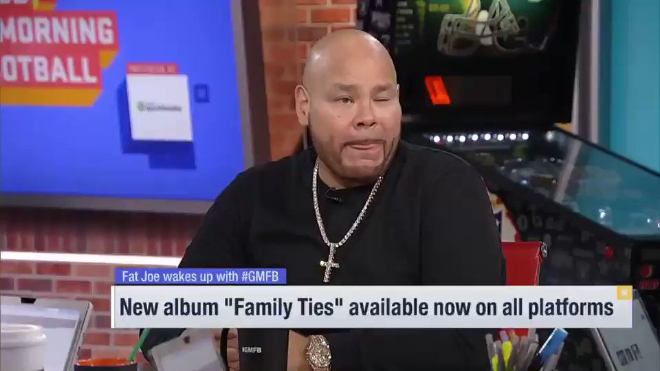 Here's @fatjoe on @Eminem v @NickCannon: 👀 🔊 Also download #FamilyTies - we've been listening to it all day! #ripnickcannon #RIPNickCanon