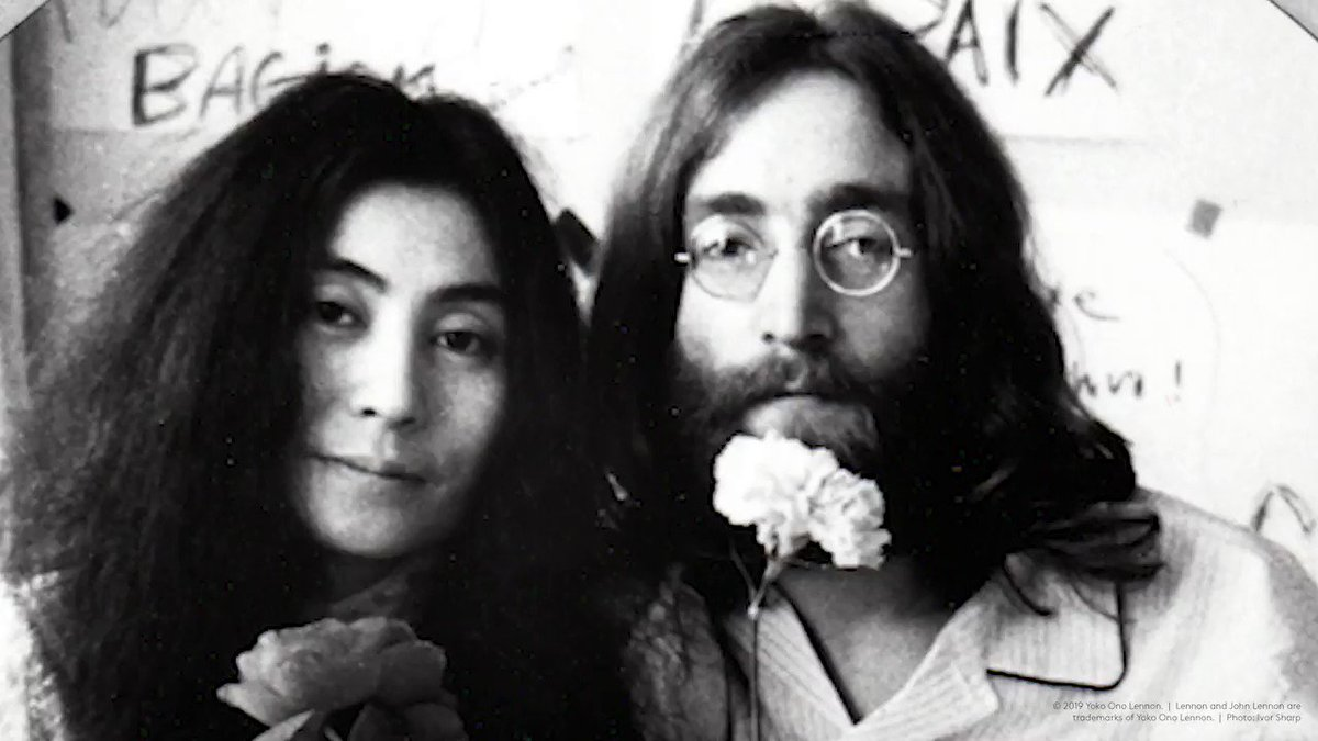 Give Peace a Chance the revolutionary song by Plastic Ono Band is the most powerful anti-war anthem in history. 50 years after its first recording, the famous words still resonate & remembered on this silver coin: bit.ly/LennonCoin mt @johnlennon
