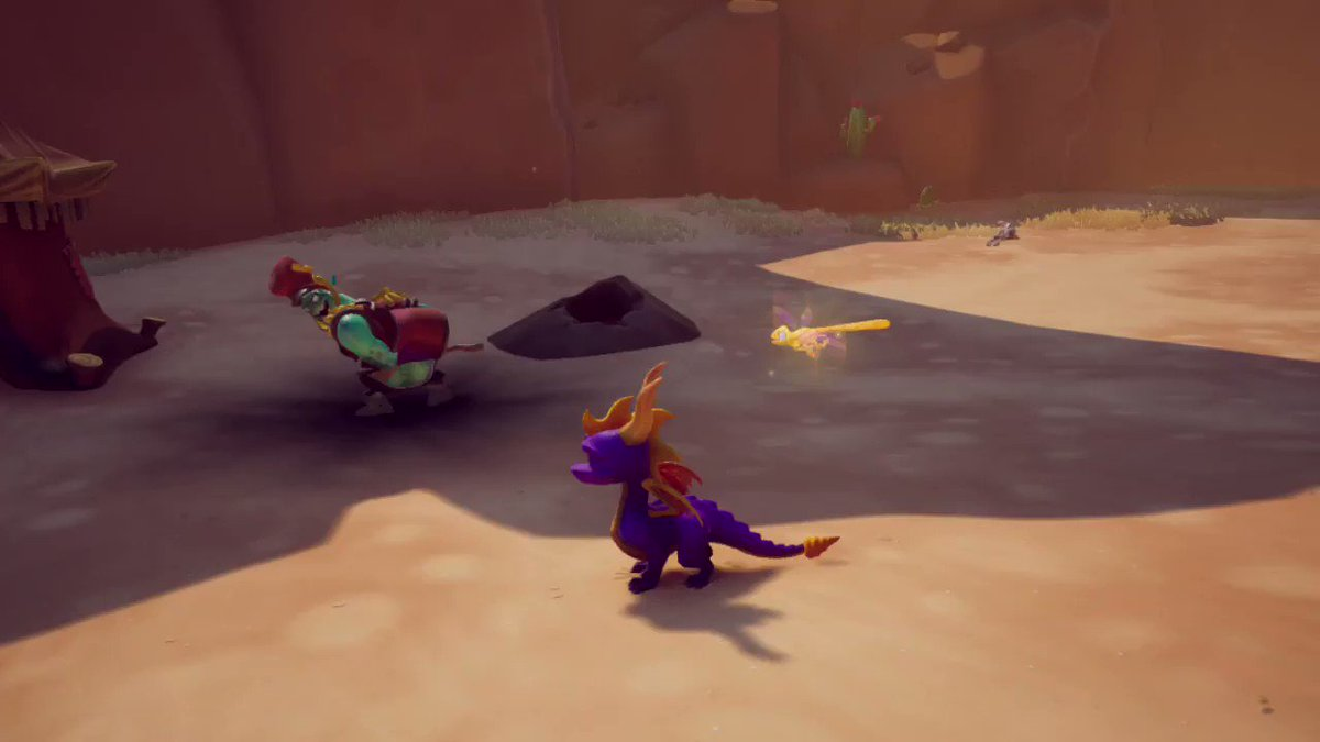 Okay wtf I didnt hit dodge roll??? #NintendoSwitch #SpyroReignited #SpyroTheDragon
