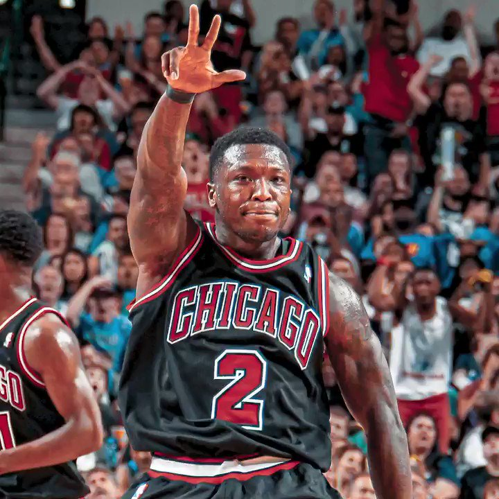 Throwback to when Nate Robinson went 7-7 from deep in 2013!