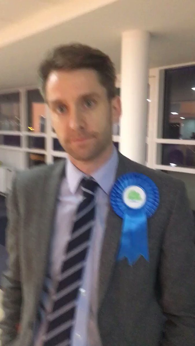Conwy County Borough council leader Sam Rowlands on the @WalesPolitics exit poll #ElectionDay2019 #etholiad2019