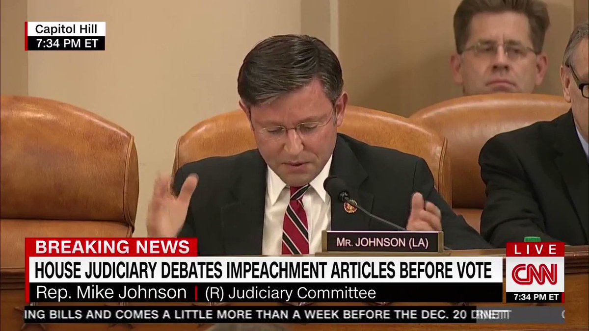 Impeachment was never intended to be used as a midterm, corrective option for a divisive or unpopular leader. Let the American people decide.
