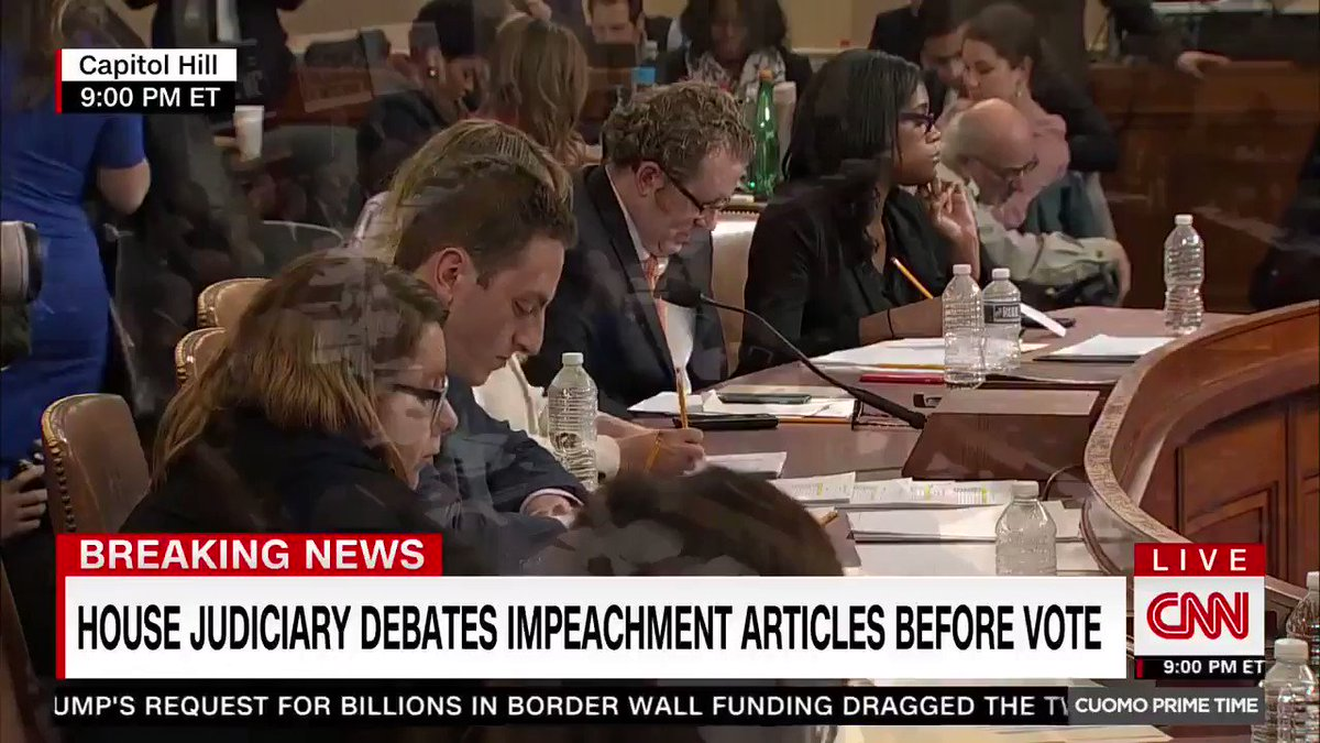 Congressman Cedric Richmond caught watching Presidents Cup during impeachment hearings