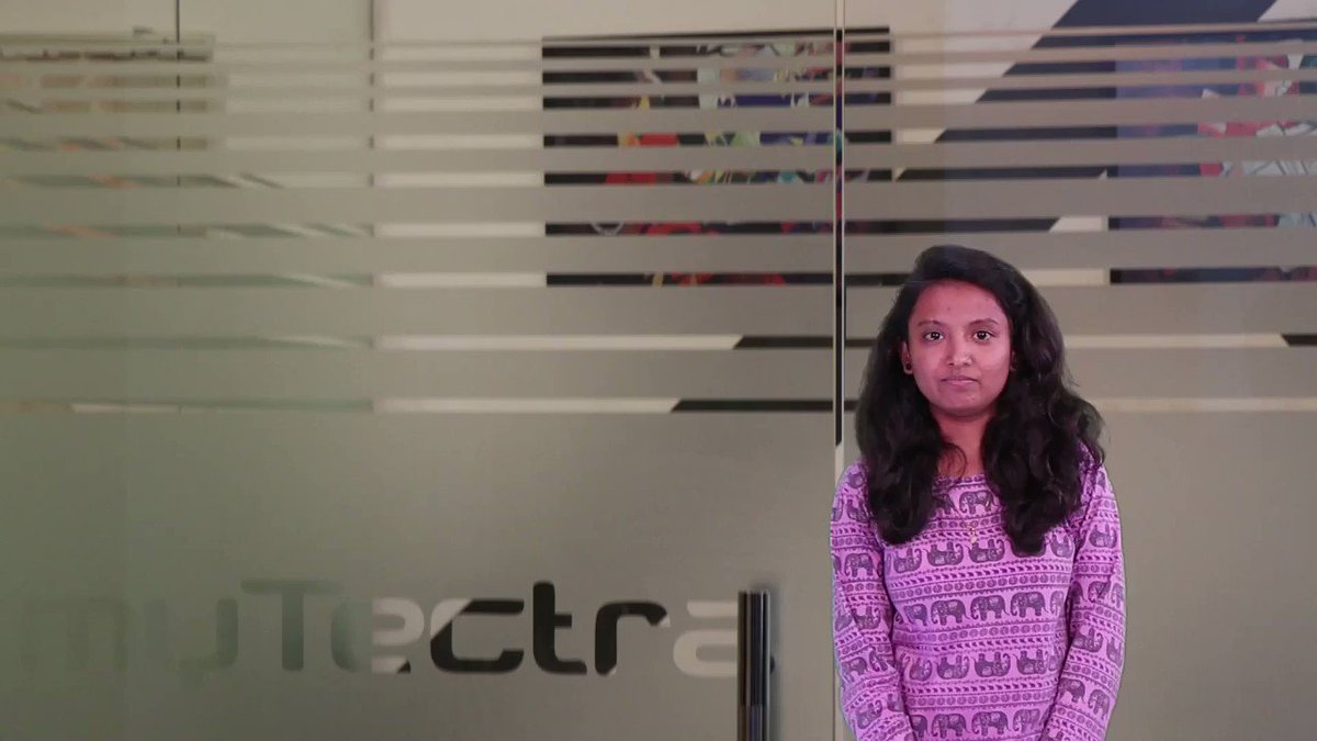 Kinjal completed the #Python and #Django course from #myTectra. She attended classroom training in Bengaluru. She was hoping for a pragmatic and organized training and is very happy with the resulthttps://buff.ly/2RMJNRf#ai #ml #datascience #pythontraining #mytectrareviews #aws