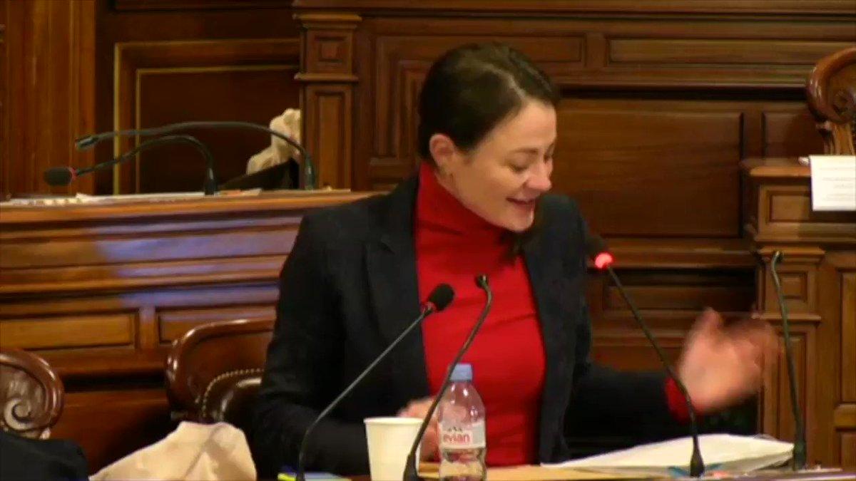 Image for the Tweet beginning: #ConseilDeParis, @marielaureharel : Deux ans