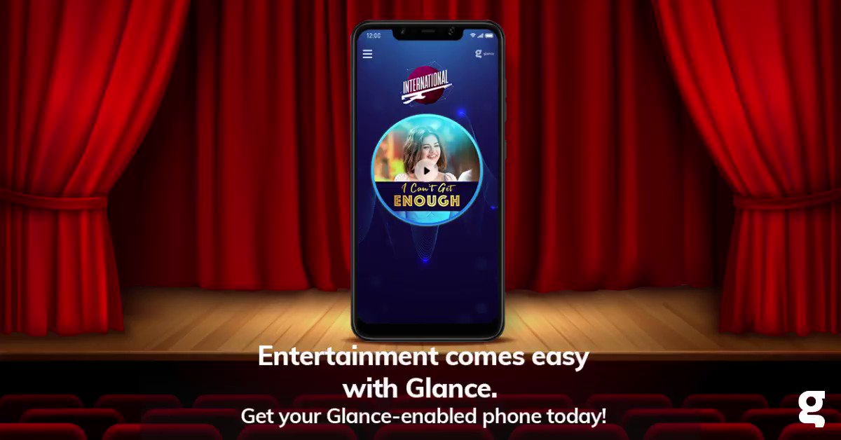 Look right on your Glance lockscreen to stay up-to-date and entertained. Get Glance today. #UnlockZindagi #fridayfeelings