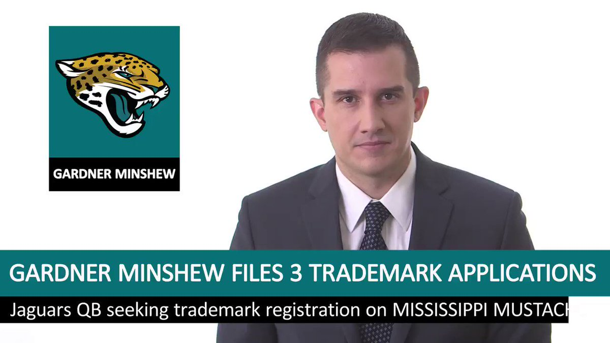 Minshew applies for trademarks for various phrases concerning his name