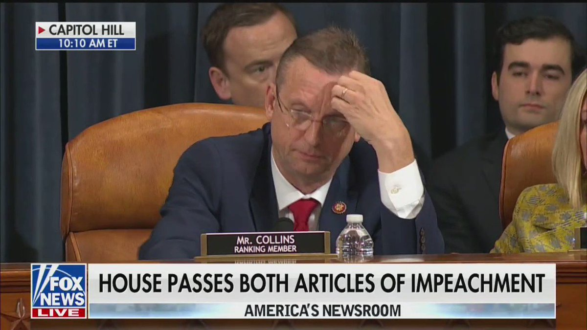 Day of shame for @TheDemocrats @RepJerryNadler @RepAdamSchiff It's DOA in the Senate, what a waste you Democrat's are to America! #ImpeachmentSham #ImpeachingHearings