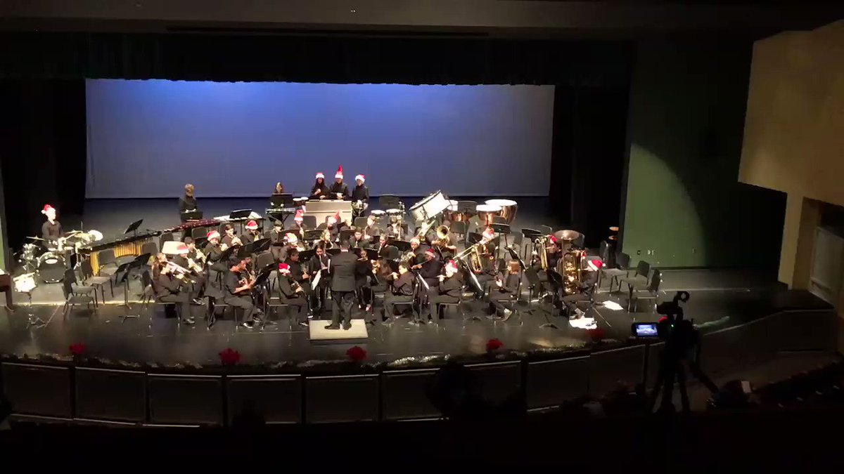 """Symphonic band concludes our Winter Concert Series !   Have a """"Rockin' Holiday"""" <a target='_blank' href='http://twitter.com/APSArts'>@APSArts</a> <a target='_blank' href='https://t.co/6RQiisLQ96'>https://t.co/6RQiisLQ96</a>"""
