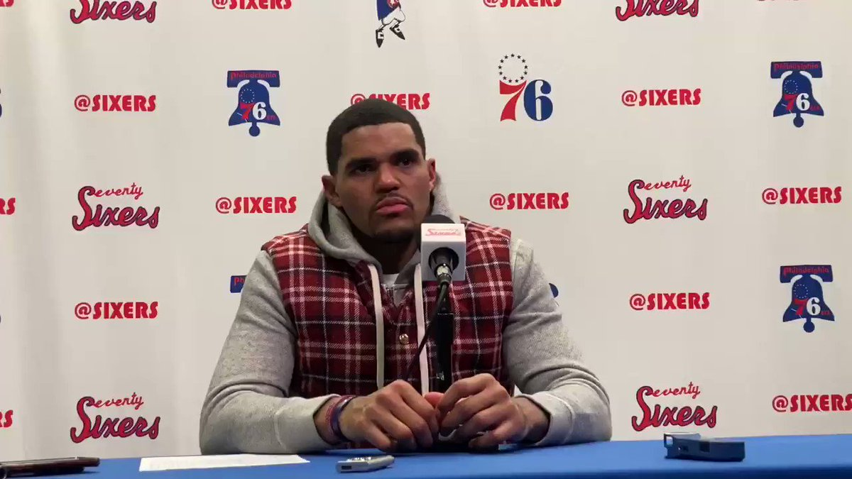 Tobias Harris believes he's an All-Star. He said it's a goal of his. #Sixers