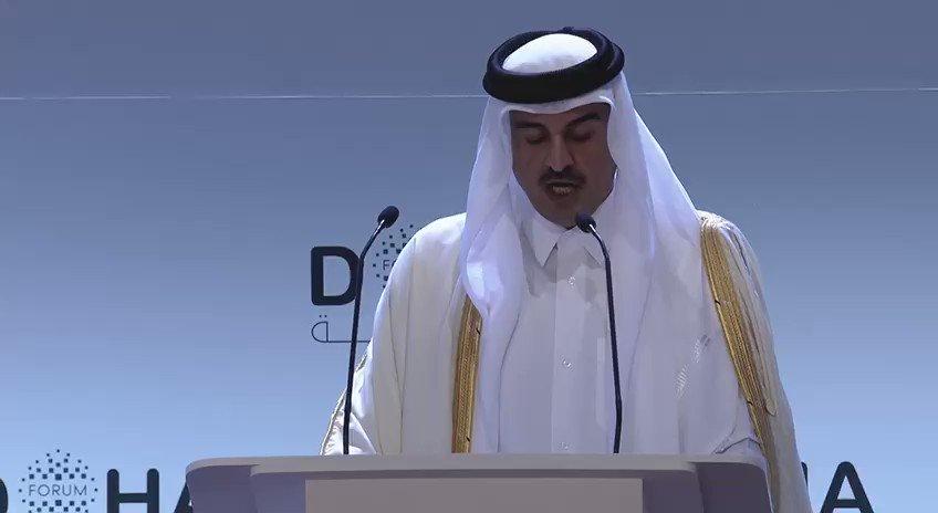 لا بد من تعزيز العمل بقوة القانون الدولي كمسؤولية ومرجعية مشتركة في ظل عالم متعدد الأقطاب #منتدى_الدوحة ٢٠١٩