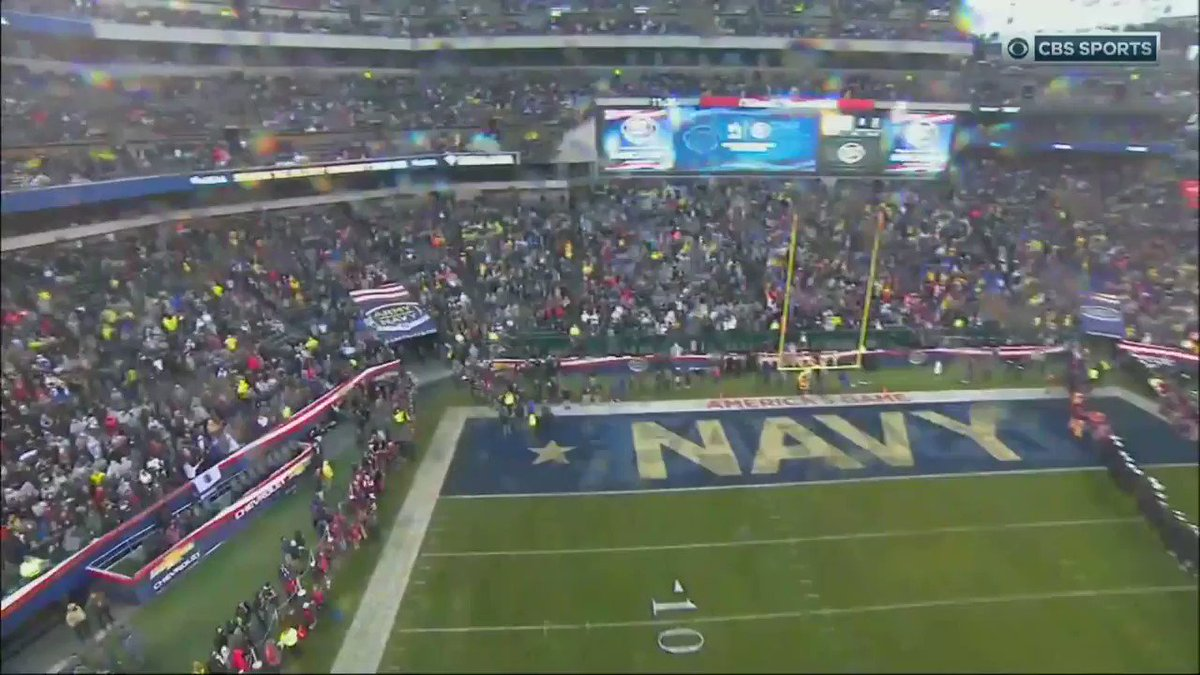 Referee Introduces Trump At Army vs. Navy Game--The Crowd Breaks Out Into Cheers
